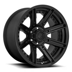 Fuel Off-Road Rogue D709 Wheel, 20x9 with 5 on 5 Bolt Pattern - Matte Black - D70920907550