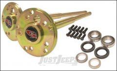 G2 Axle & Gear 35 Spline Placer Gold Rear Chromoly Axle Kit For 2007-18 Jeep Wrangler JK 2 Door & Unlimited 4 Door Models With Dana 44 Rear Axle With 35 Spline Upgrade 196-2052-002