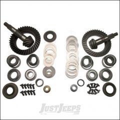 G2 Axle & Gear 4.56 Ring & Pinion Kit Front & Rear For 2007-18 Jeep Wrangler JK 2 Door & Unlimited 4 Door Rubicon Models With Dana 44 Front & Rear Axle 4-JKRUB-456