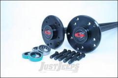 G2 Axle & Gear 35 Spline Rear Chromoly Axle Kit For 2003-06 Jeep Wrangler TJ & TLJ Unlimited Rubicon Models With 35 Spline Upgrade & Disc Brakes 96-2045-3-35