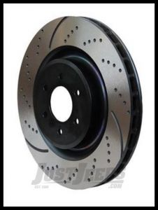 EBC 3GD Series Sport Slotted Front Rotors For 2000-06 Jeep Wrangler TJ Models & Cherokee XJ (Pair) GD1256