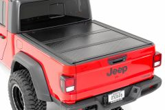 Rough Country Low Profile Hard Tri-Fold Tonneau Cover for 2020+ Jeep Gladiator JT 47620500