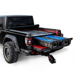 Decked Gladiator Bed Organizer Storage System for 20+ Jeep Gladiator JT MJ1