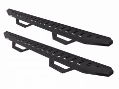 Go Rhino RB20 Running Boards in Textured Black with Step for 20+ Jeep Gladiator 6945168720PC