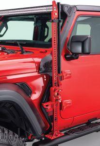 Go Rhino Exterior Jack Mount for 18-21 Jeep Wrangler JL & Gladiator JT 701001T