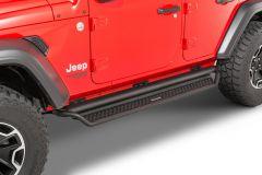 Go Rhino Dominator D1 Side Steps for 18-21 Jeep Wrangler JL Unlimited D14506T