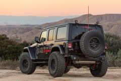 Go Rhino Rockline Rear Stubby Bumper for 18+ Jeep Wrangler JL 371100T