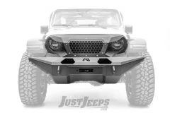 Fab Fours Full Width Front Grumper For 2018+ Jeep Gladiator JT & Wrangler JL 2 Door & Unlimited 4 Door Models GR4610-1
