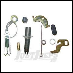 """Omix-ADA Brake Self Adjuster Hardware Kit Driver Side Rear For 1990-06 Wrangler YJ TJ, 1990-01 XJ Cherokee With 9"""" brakes & Dana 35 16739.05"""
