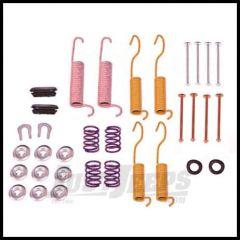 "Omix-ADA Brake Drum Hardware Kit Rear For 1978-89 YJ Wrangler and CJ Series, 1986-89 XJ Cherokee With 10"" x 1-3/4"" or 10"" x 2-1/2"" brakes 16738.02"