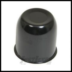 "Gorilla Automotive 3.3"" Diameter Black Chrome Steel Center Cap HC216BC"