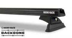 Rhino-Rack Heavy Duty RCL Black 2 Bar Rhino-Rack Backbone Roof Rack For 2018+ Jeep Wrangler Unlimited JL JB0880