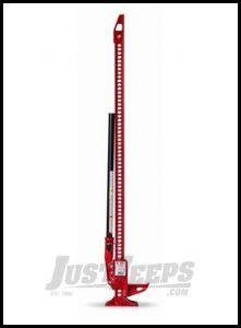 "Hi-Lift Jack 48"" Red Cast Iron Trail Jack 485"