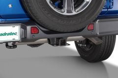 "Quadratec Premium 2"" Receiver Hitch for 18+ Jeep Wrangler JL, JLU 12015.1004"