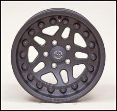 Hutchinson Beadlock Wheel  17 X 8.5 With 5 On 5.50 Bolt Pattern In Black 60636-017-01