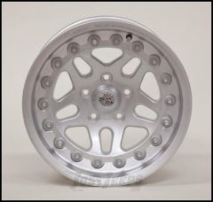 Hutchinson Beadlock Wheel  17 X 8.5 With 5 On 5.00 Bolt Pattern In Silver 60637-047-03