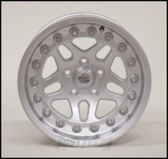 Hutchinson Beadlock Wheel  17 X 8.5 With 5 On 4.50 Bolt Pattern In Silver 60638-047-03