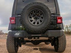 Magnum by Raptor Series Rear Bumper for 18+ Jeep Wrangler JL, JLU RBM45JPN