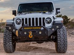 Magnum by Raptor Series RT Series Front Full Width Bumper for 18+ Jeep Wrangler JL & Gladiator JT FBM36JPN-RT