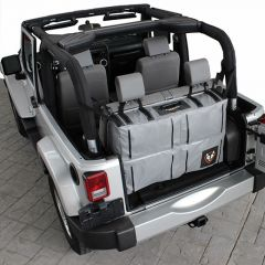 "Rightline Gear (Grey) Trunk Storage Bag 36"" For 2007-18 Jeep Wrangler JK 2 Door & Unlimited 4 Door Models 100J72"