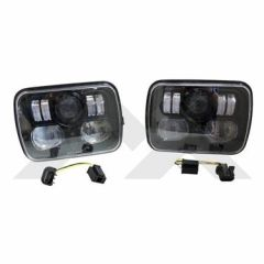 RT Off-Road LED Headlight Set For 1984-2001 Jeep Cherokee XJ & Wrangler YJ RT28106