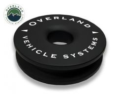 """Overland Systems Recovery Ring 6.25"""" 45,000 lb. Black With Storage Bag Universal 19240004"""