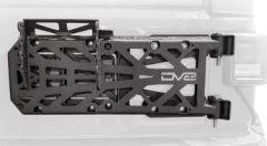 DV8 Offroad HD Easy Open Hinge Replacement Spare Tire Carrier For 2018+ Jeep Wrangler JL 2 Door & Unlimited 4 Door Models TCJL-03