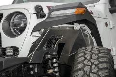 Addictive Desert Designs Rock Fighter Front Fenders For 2018+ Jeep Wrangler JL 2 Door & 4 Door Unlimited D96164001NA