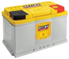 Optima Yellow Top 12 volt Deep Cycle Battery (800CCA) H6 For 2012-20+ Jeep Wrangler JK/JL & Gladiator JT Models with 3.6L V6 7048-148