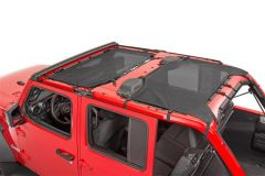 TrailFX Bikini Top For 2018+ Jeep Wrangler JL Unlimited 4 Door Models MBT006