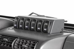 Rough Country MLC-6 Multiple Light Controller for 97-06 Jeep Wrangler TJ, TLJ 70956