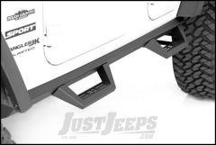 Rough Country Wheel To Wheel Fabricated Steps For 2007-18 Jeep Wrangler JK Unlimited 4 Door Models 90765B