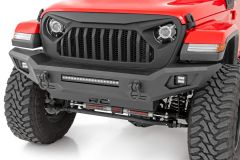 Rough Country Front Bumper w/ Skid Plate for 07-20+ Jeep Wrangler JK, JL & Gladiator JT 10635