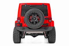 Rough Country Rock Crawler Rear HD Bumper for 2007-2018 Jeep Wrangler JK 10593A