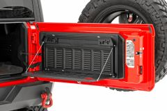 Rough Country Tailgate Table for 18+ Jeep Wrangler JL, JLU 10625