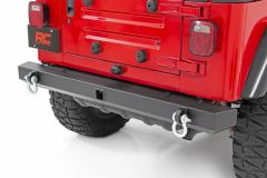 Rough Country Classic Full Width Rear Bumper for 87-06 Jeep Wrangler YJ, TJ 10591