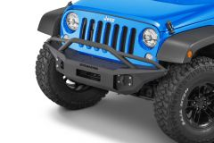 Iron Cross Automotive Full Size Front Bumper with Bar for 18+ Jeep Wrangler JL Unlimited & Gladiator JT GP-1302
