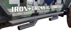 Iron Cross Automotive Side Arm Steps for 07-18 Jeep Wrangler JK Unlimited 4-Door GP-9466