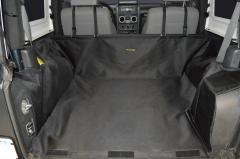 Dirtydog 4X4 Cargo Liner With Side-Subwoofer For 2007-14 Jeep Wrangler 2 Door Models J2CLWS0714
