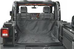 Dirtydog 4X4 Cargo Liner Without Side-Subwoofer For 2007-18 Jeep Wrangler JK Unlimited 4 Door Models J4CLNS0717
