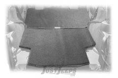 Dirtydog 4x4 Rear Cargo Area Pet/Crash Pad For 2007-18 Jeep Wrangler JK Unlimited 4 Door Models J4PP07RCBK