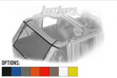Dirtydog 4X4 Cargo Area Sun Screen For 2007-18 Jeep Wrangler JK Unlimited 4 Door Models J4SS07C1-