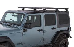 "Rhino-Rack Pioneer Platform RTL600 with Backbone System (72"" x 56"") -Assembled For 2007-18 Jeep Wrangler Unlimited JK Hardtop JA7697"