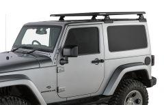 "Rhino-Rack Pioneer Platform RTL600 with Backbone System (52"" x 56"") -Assembled For 2011-18 Jeep Wrangler JK JA9336"