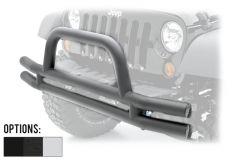 SmittyBilt Front Bumper With Hoop For 2007-18 Jeep Wrangler JK 2 Door & Unlimited 4 Door Models JB48-