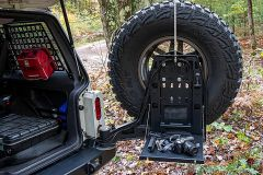 JCR Offroad Fold Down Table for JCR Adventure Swing-Out Carrier VTC-TAB-PC