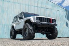 JCR Offroad Crusader Front Bumper for 84-01 Jeep Cherokee XJ XJFCB-