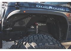 JCR Off Road Falcon Shocks Front Inner Fender Kit for 07-18 Jeep Wrangler JK, JKU JKFX-FLCNIF-BARE