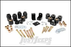 """Rough Country 1"""" Body Lift Kit With Body Mounts For 1997-06 Jeep Wrangler TJ & Jeep Wrangler TJ Unlimited RC607"""