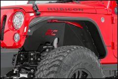 Rough Country (Black) Front Inner Fenders For 2007-18 Jeep Wrangler JK 2 Door & Unlimited 4 Door Models 1195